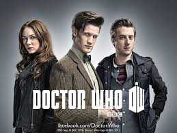 Amy, Rory and Matt Smith Doctor Who