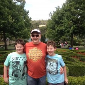 Enchanted Maze - Mark and boys