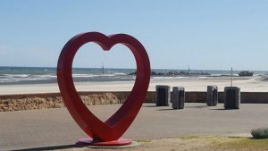 Image: Heart at the beach. Used with permission. Leisl Leighton